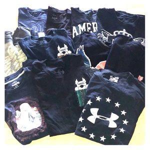 Other - lot of 10 Black XL men's t-shirt's